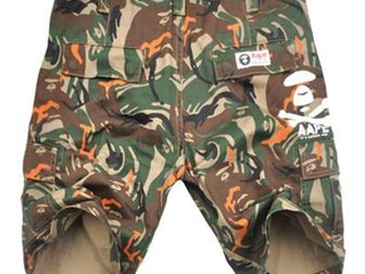 Уникальное foto Мужская одежда Шорты Aape Bape Street 32919998 в Москве