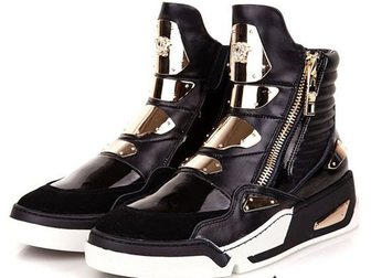 Скачать foto Мужская обувь Сникерсы Versace Golden Plate High-Top 32968940 в Москве