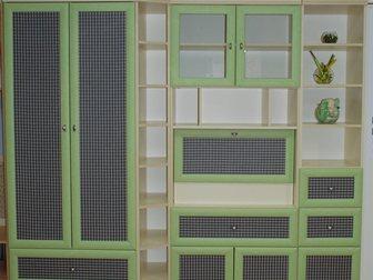 Увидеть фото Мебель для детей Стенка подростковая новая 33039319 в Москве