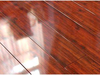 Смотреть изображение  Ламинат Евростиль, Diamond, глянец, 139 Тик красный, 33068620 в Москве