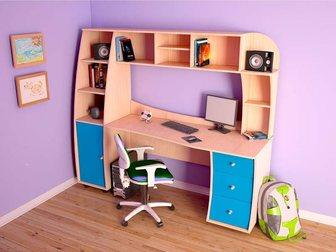 Скачать фото Детская мебель Компьютерные столы от 1800 руб! Сборка! Гарантия! Доставка 33117280 в Москве