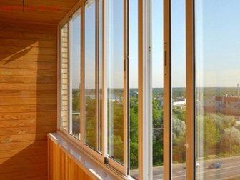 Новое фотографию  Алюминиевое остекление балконов и лоджий, Изготовление окон ПВХ, 33130381 в Химки