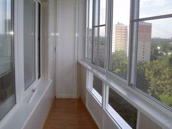 Увидеть фотографию  Алюминиевое остекление балконов и лоджий, Изготовление окон ПВХ, 33130381 в Химки