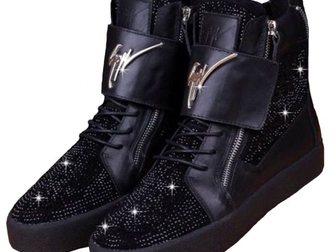 Свежее изображение Мужская обувь Сникерсы Giuseppe Zanotti High-Top Diamonds 33290910 в Москве