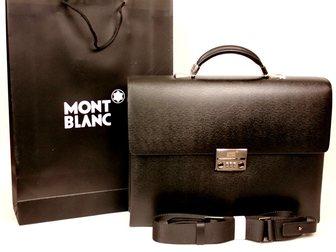 Свежее фотографию Аксессуары Портфели Mont Blanc 33296322 в Москве