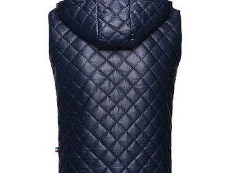Увидеть изображение Мужская одежда Жилетка кожаная Philipp Plein Leather 33303846 в Москве