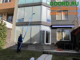 Уникальное foto  Услуга мытье стекол промышленными альпинистами 33369797 в Москве