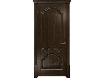 Уникальное фотографию  Межкомнатная дверь DIOdoors, Валенсия-1, Ам, орех, глухая, 33577952 в Москве