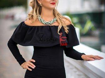 Свежее фото Женская одежда Платье черное от производителя 33663379 в Москве