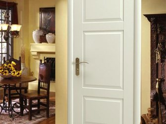 Уникальное фотографию  Межкомнатная дверь Европан, ЭКО-шпон, Classico, Нью-Йорк 1, Белый, 33787458 в Москве
