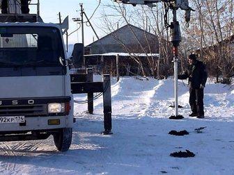 Просмотреть фото  Закручивание винтовых свай, шпунтирование, бурение 33826508 в Москве