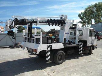 Смотреть изображение Другие строительные услуги Закручивание винтовых свай ямобуром Nissan Diesel 33864029 в Москве