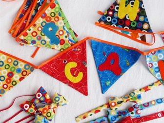 Уникальное foto  Буквы-подушки, лоскутные одеяла, текстильные игрушки и декор 33913834 в Москве