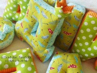 Скачать бесплатно foto  Буквы-подушки, лоскутные одеяла, текстильные игрушки и декор 33913834 в Москве