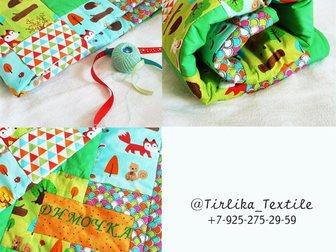 Увидеть foto Детские игрушки Лоскутное одеяло для Димочки 33913897 в Москве