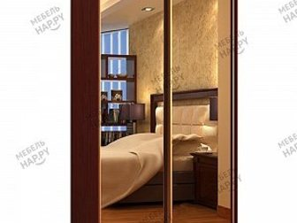 Скачать фотографию  Шкаф-купе Версаль-2, 2 зеркальный 33926830 в Москве