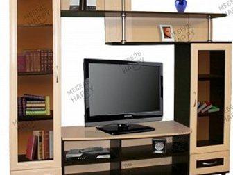 Уникальное foto Мебель для гостиной Стенка под ТВ Алиса-3 (новая, с доставкой) 33946240 в Москве