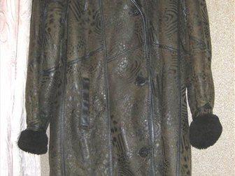 Скачать фотографию Женская одежда Продаю дубленку натуральную женскую 48-50 раз 33995391 в Москве
