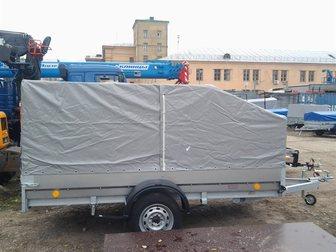 Просмотреть фото Прицепы для легковых авто Трейлер 829450 (3, 2х1, 4) для перевозки снегохода 34016815 в Москве