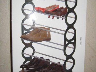 Новое foto Мебель для прихожей Подставка для обуви (этажерка), узкая, сборная 34037446 в Москве