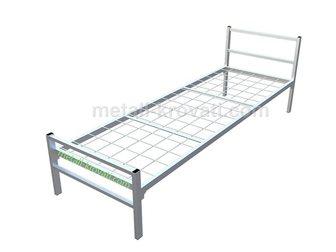 Скачать изображение  Кровати металлические двухьярусная, для больниц, металлические кровати с ДСП спинками, кровати для бытовок, кровати оптом, От производителя, 34084745 в Москве