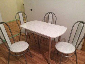 Новое фото Кухонная мебель Стол обеденный для малой кухни 34225901 в Нижнем Новгороде