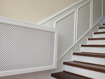 Просмотреть фото Производство мебели на заказ Декоративные решетки на радиатор,панели на стену с резным декором на заказ 34460095 в Москве