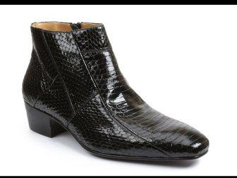 Скачать бесплатно foto Мужская обувь Полуботинки из кожи змеи Brutini 34499711 в Ростове-на-Дону