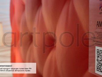 Скачать изображение  Гипсовые 3д панели для стен, M-0023 Ampir, 34655070 в Москве