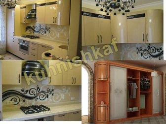 Свежее фото Кухонная мебель кухни на заказ мебель шкафф купе 35478697 в Москве