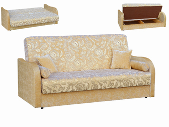 Просмотреть фотографию Мягкая мебель Диван-кровать с механизмом книжка Мекс 35563438 в Москве