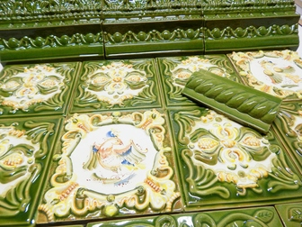 Скачать бесплатно фотографию  Изразцовая печь Малаховское подворье 35859827 в Москве