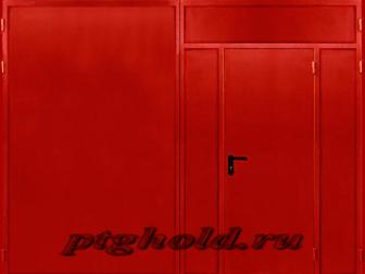 Новое foto Двери, окна, балконы Ворота противопожарные распашные 35861690 в Москве