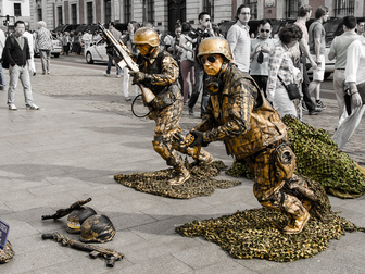 Новое фотографию  Живые статуи 35893053 в Москве