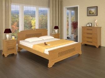 Просмотреть фото  Кровать из массива от производителя 35991820 в Москве