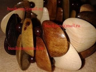 Просмотреть изображение  Бижутерия из Крымских пород деревьев 36226939 в Москве