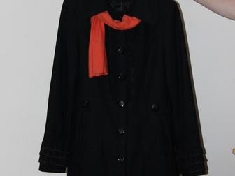 Уникальное изображение  Продам пальто демисезонное черного цвета новое 37570233 в Казани