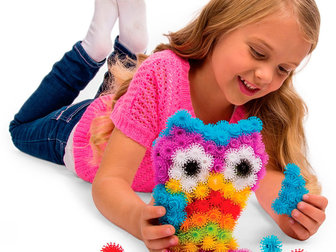 Свежее foto Детские игрушки Конструктор-липучка Банчемс оптом, 400шт (есть в наличии) 37694759 в Москве