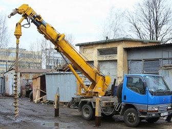 Смотреть foto Аренда и прокат авто Услуги ямобура, Установка опор 37725203 в Москве