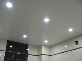 Просмотреть изображение Ремонт, отделка Натяжной потолок бюджетные варианты 38216322 в Москве