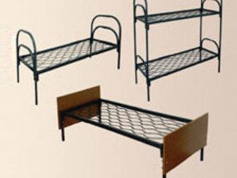 Новое фотографию Мебель для спальни Кровати металлические одноярусные, Кровати для студенческих общежитий 38405067 в Астрахани