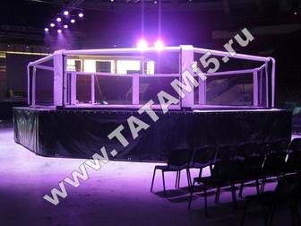 Смотреть фотографию  Борцовские ковры , татами, будо-мат, Ринги , клетки ММА 39523546 в Москве