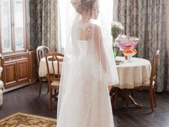 Просмотреть foto  Свадебное платье 39632185 в Москве