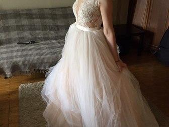 Смотреть фотографию Свадебные платья новое свадебное платье бренда Gabbiano 39978458 в Москве