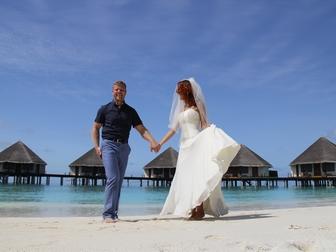 Уникальное фотографию Свадебные платья Продаю практически новое свадебное платье 40025170 в Москве