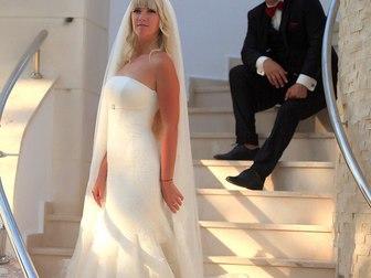 Уникальное фото Свадебные платья Продам элегантное брендовое свадебное платье в стиле рыбка, 40256014 в Москве
