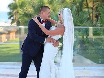 Скачать фото Свадебные платья Продам элегантное брендовое свадебное платье в стиле рыбка, 40256014 в Москве