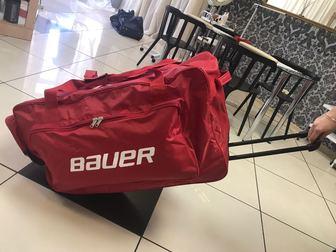 Свежее изображение  Баул хоккейный на колёсах Bauer 41592257 в Москве