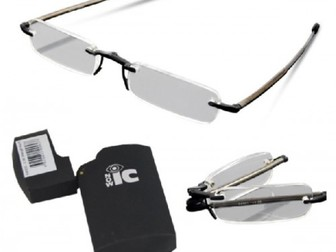 Смотреть изображение Очки для чтения Компактные стильные очки для чтения Nowic +1, 50, высокое качество 42127687 в Москве