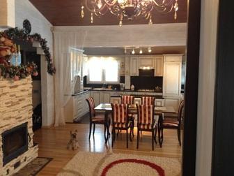 Скачать фото Дома Продаётся 2-х этажный дом из бруса в стиле Шале площадью 337 м2, МО, Истринский р-н, пос, Северный 43086585 в Москве